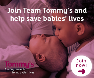 Support Tommy's with your ballot place