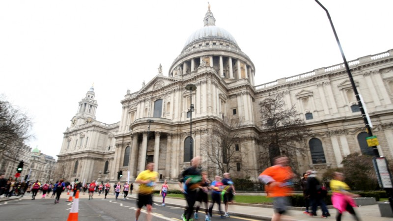 Runner and St Pauls