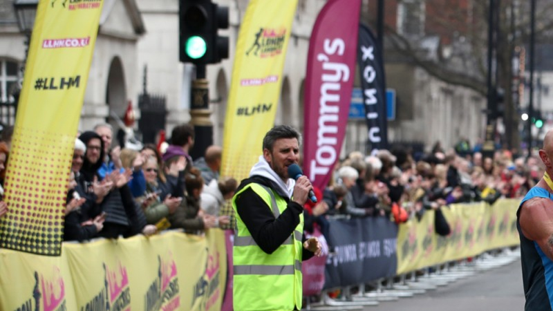 LLHM commentator on race day
