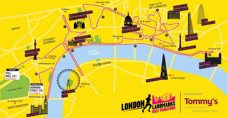 London Landmarks Half Marathon   LLHM